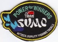 Annonces 2 badges brodés en tissu de marques Sumo10