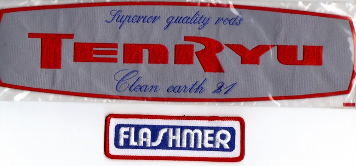 Annonces 1 badges brodés en tissu de marques Tenryu10