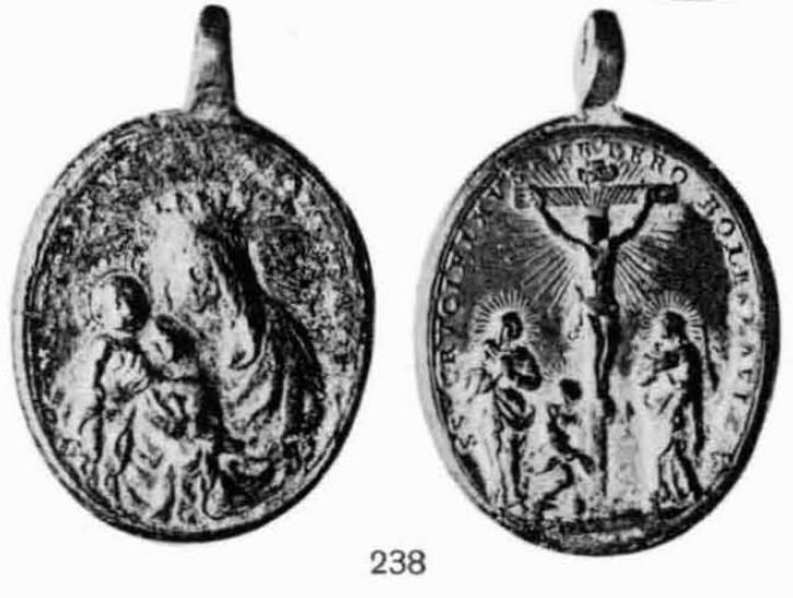 Médaille tchèque - XVIIème - St-Benoît & le St-Crucifix de Stara Boleslav Bolesl13