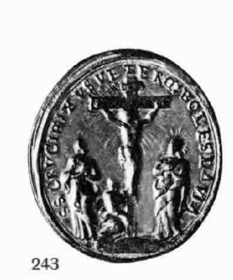 Médaille tchèque - XVIIème - St-Benoît & le St-Crucifix de Stara Boleslav Bolesl14