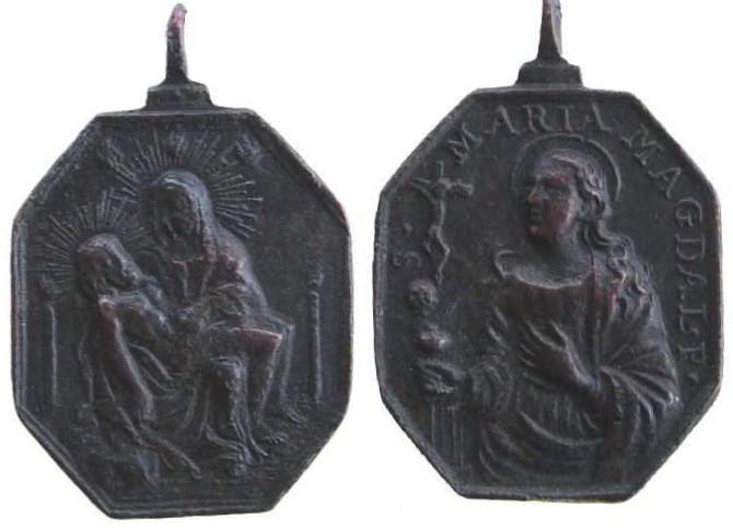 Médaille Sainte   Marie Madeleine de Pazzi - XVIIème Mmdep10