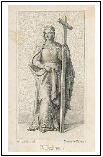 Médaille allemande Ste-Hélène & Ste-Tunique de Trêves - XIXème Sv_hel10