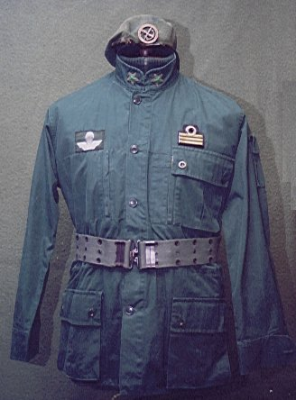 Italian COMSUBIN Green Uniform 1410