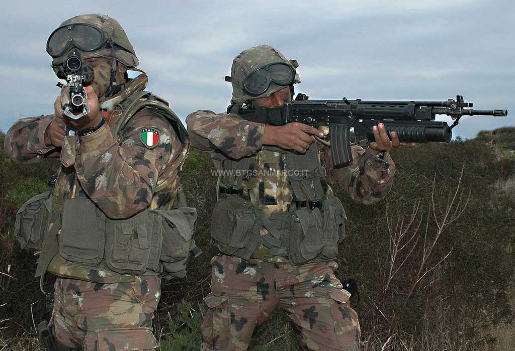 Italian Marines and Navy photos. 2010