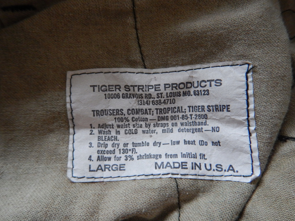Tiger Stripe Products, original run. Dscn7526