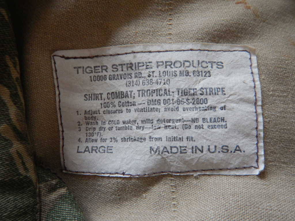 Tiger Stripe Products, original run. Dscn7527