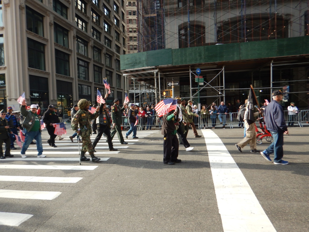 2019 Veterans Day parade NY City  Dscn8746
