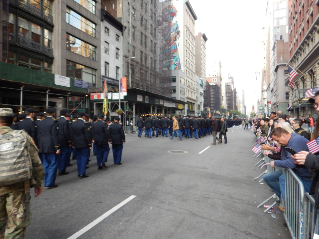 2019 Veterans Day parade NY City  Dscn8825