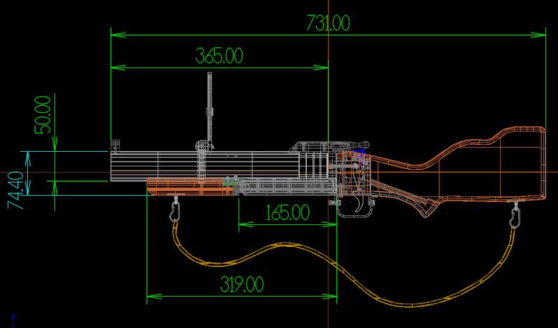 fabrication d' un M 79 en acier alu PVC - Page 6 Cote_m10