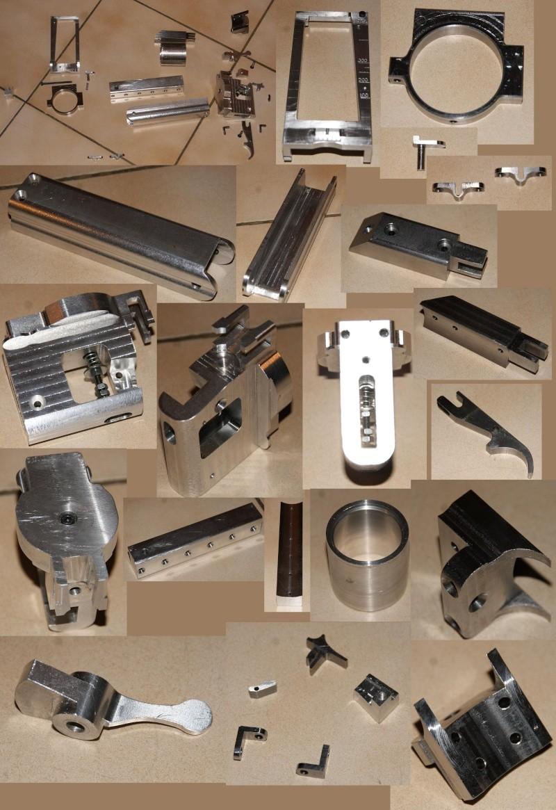 fabrication d' un M 79 en acier alu PVC Montag10