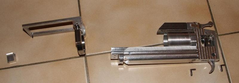 fabrication d' un M 79 en acier alu PVC Montag11