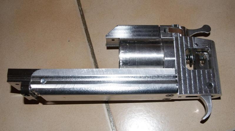 fabrication d' un M 79 en acier alu PVC Montag12