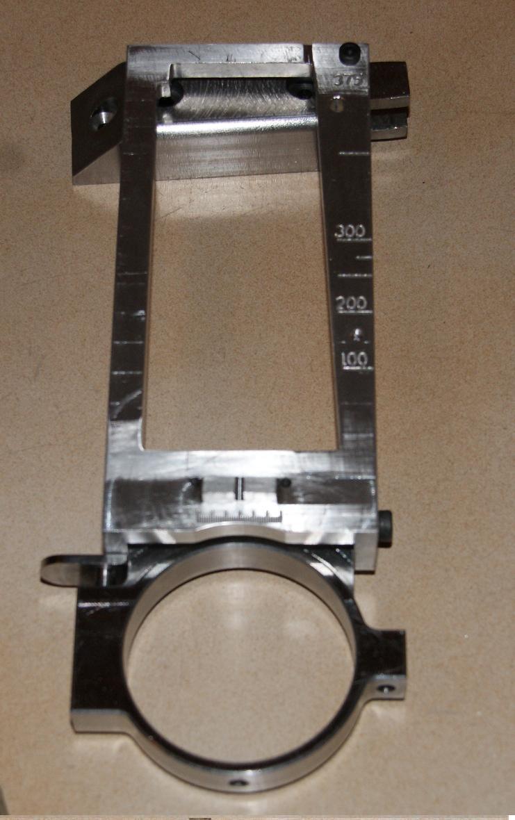 fabrication d' un M 79 en acier alu PVC Montag16