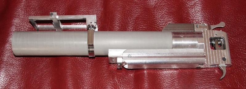 fabrication d' un M 79 en acier alu PVC Montag22