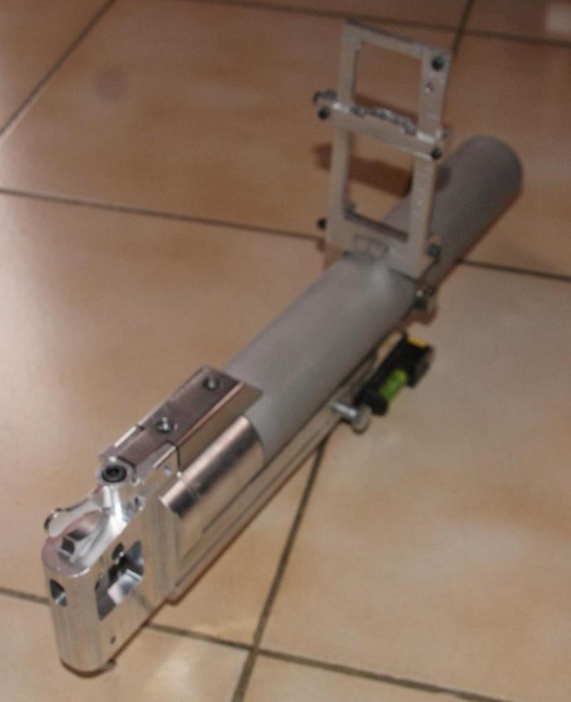 fabrication d' un M 79 en acier alu PVC Montag24
