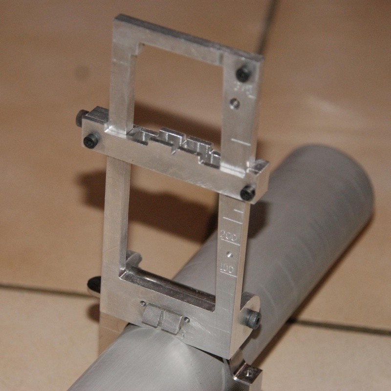 fabrication d' un M 79 en acier alu PVC Montag25
