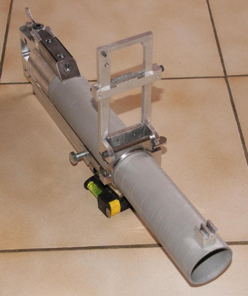 fabrication d' un M 79 en acier alu PVC Montag26