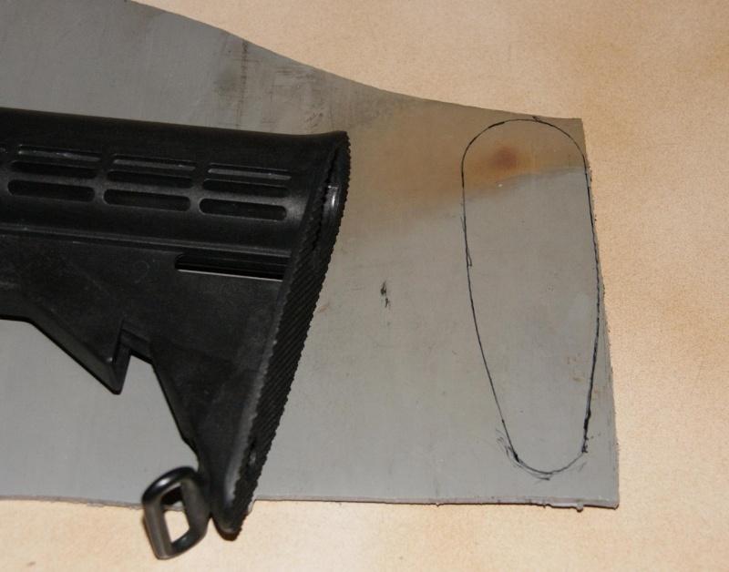 Tuto Fabriquer une crosse de type M4 en PVC Montag67