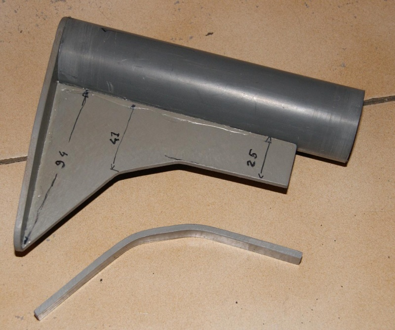 Tuto Fabriquer une crosse de type M4 en PVC Montag76