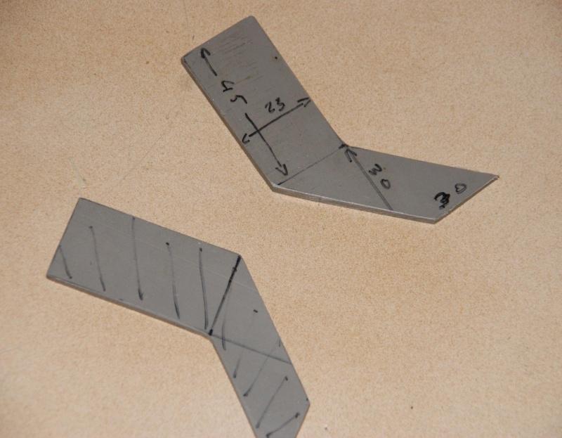 Tuto Fabriquer une crosse de type M4 en PVC Montag80