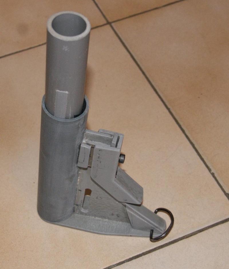 Tuto Fabriquer une crosse de type M4 en PVC Montag87