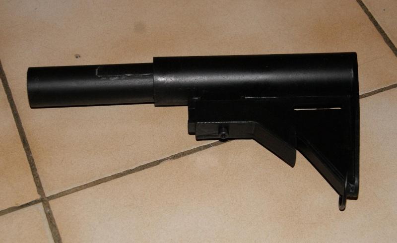 Tuto Fabriquer une crosse de type M4 en PVC Montag88