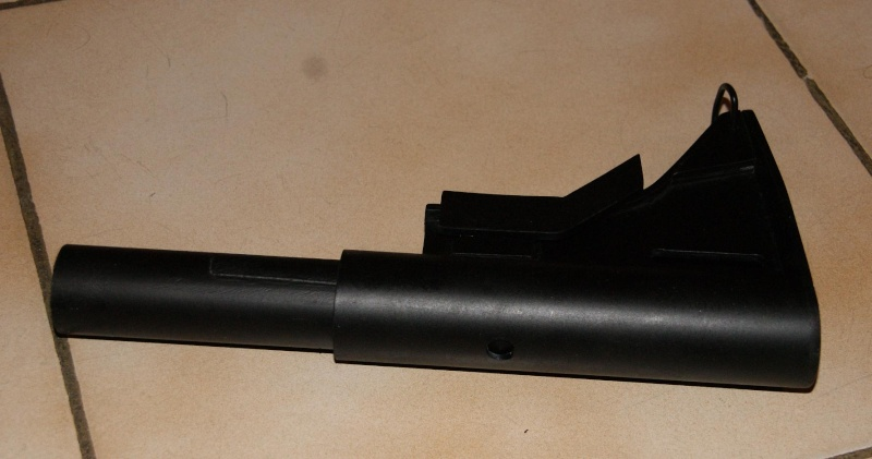 Tuto Fabriquer une crosse de type M4 en PVC Montag89