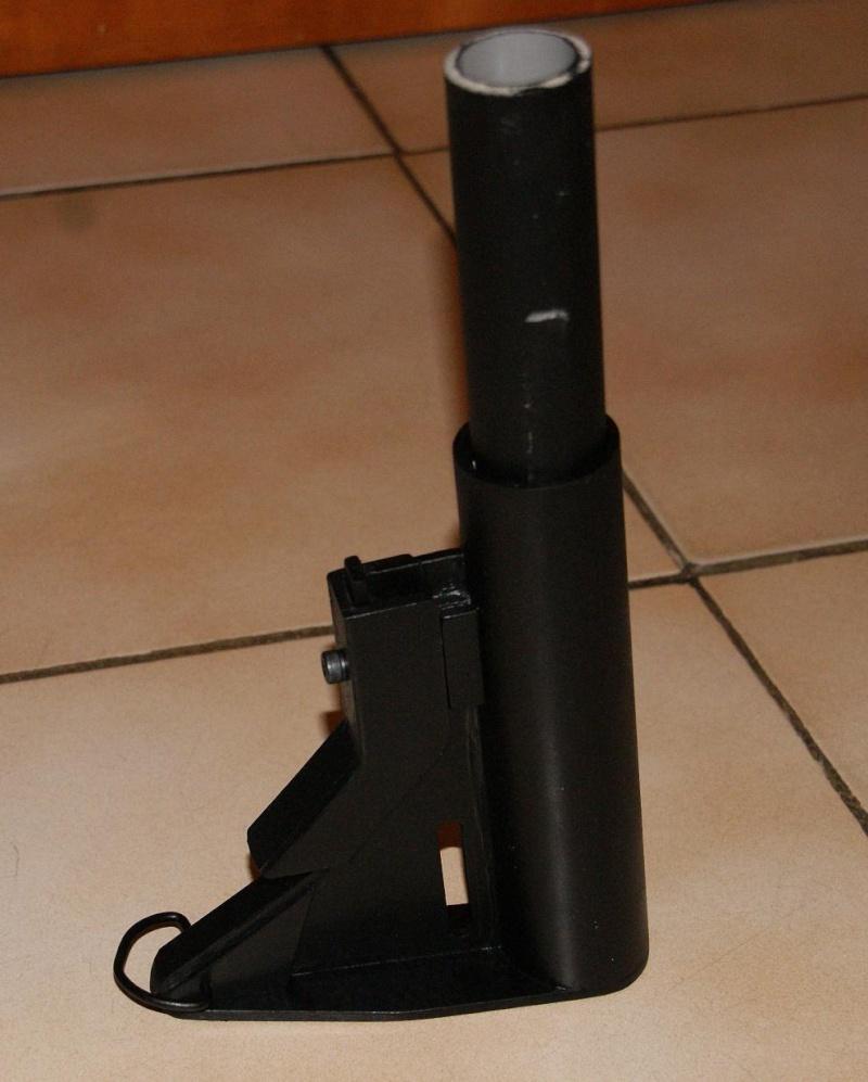Tuto Fabriquer une crosse de type M4 en PVC Montag91