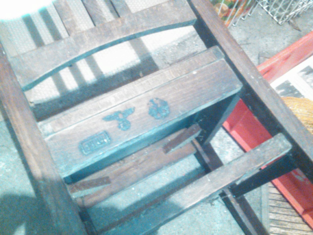 Chaise allemande ww2 28910e10