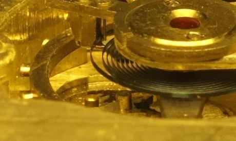 blocage d'une montre mécanique Fourch10