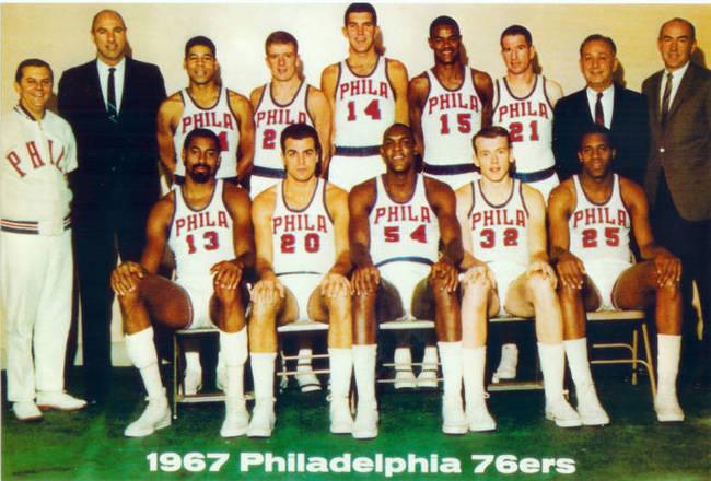 Philadelphia 76ers  67sixe11