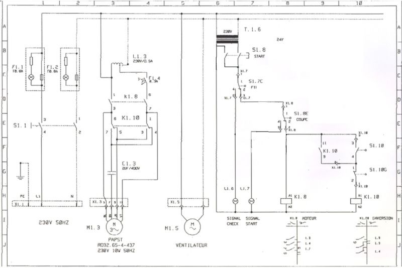 problème rotation aller-retour moteur Schama14