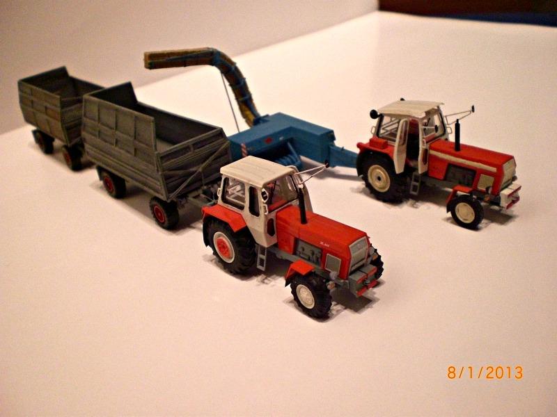 DDR Landmaschinen vom Flumpi K453-410