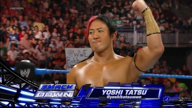 YOSHI Going to push himself  Smackd10