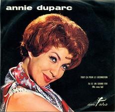 ANNIE DUPARC R-367910