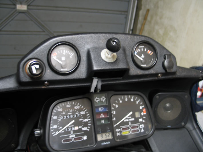 GPS mount - 1989 K100LT Comple10