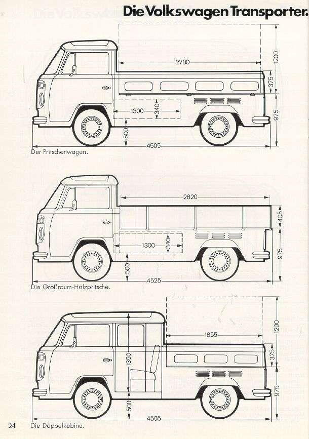 VOLKSWAGEN COMBI 1978 PICK UP SIMPLE ET DOUBLE CABINE Combi_11