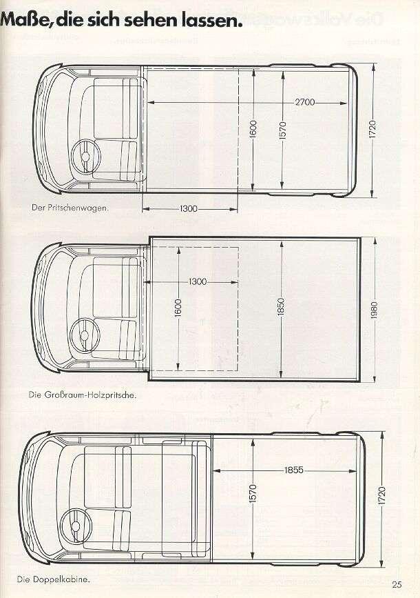 VOLKSWAGEN COMBI 1978 PICK UP SIMPLE ET DOUBLE CABINE Combi_12