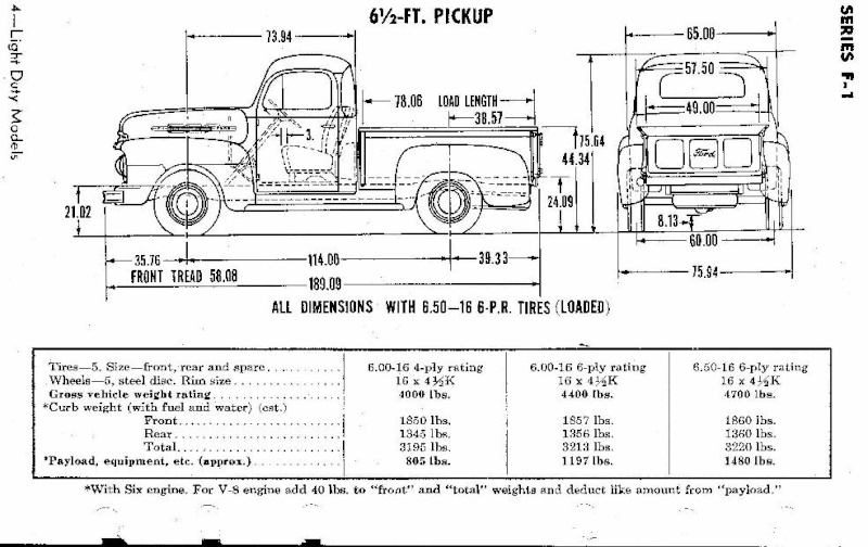 FORD PICK-UP F1 F1_pic10