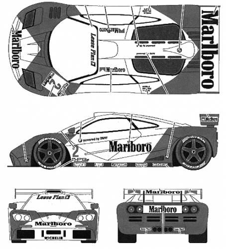 *COURSE* MC LAREN F1 GTR MARLBORO Mclare10