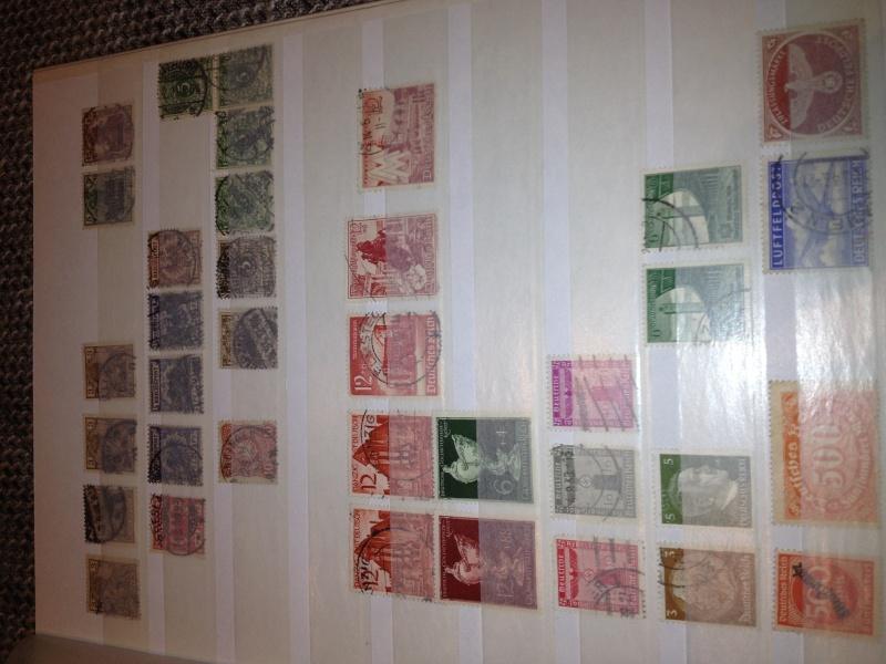 Erhaltene Briefmarkensammlung  Img_1613