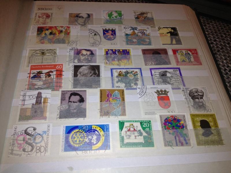 Erhaltene Briefmarkensammlung  Img_1749
