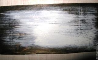 МК - состаренный фон под вживление лазерной распечатки. 13011417