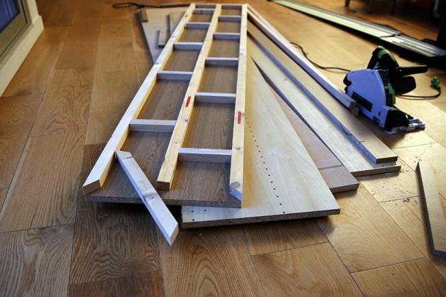 Customisation d'un meuble suédois 2710