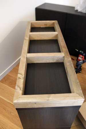 Customisation d'un meuble suédois _v8d0022