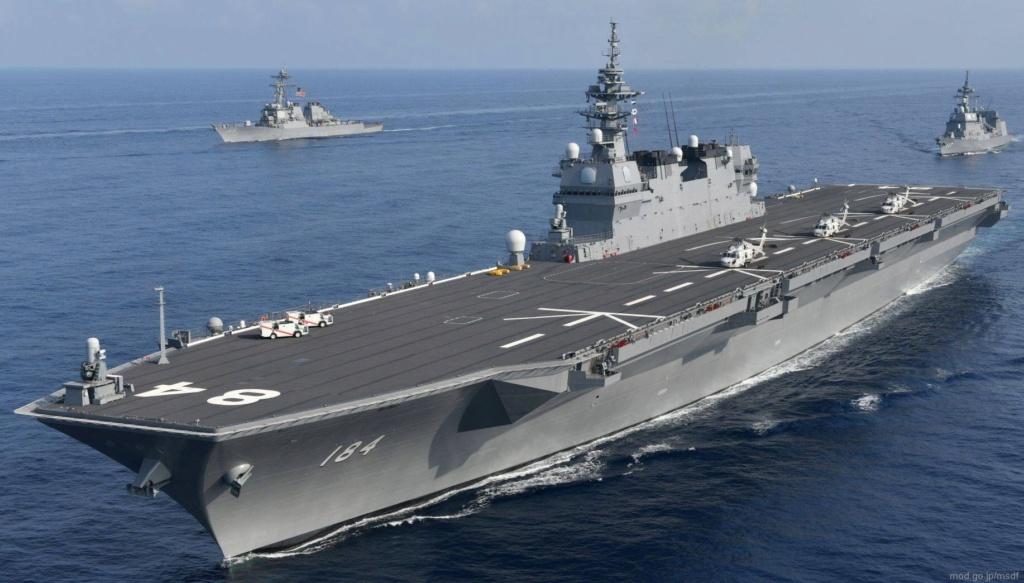 Le Kaga (DDH-184) transformé en porte-avions Ddh-1810