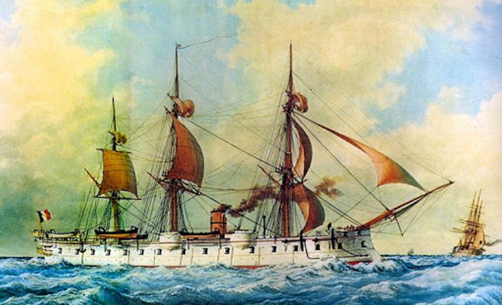 La marine en bois, à voile, à vapeur & cuirasse (1792-1873) Oczoan10