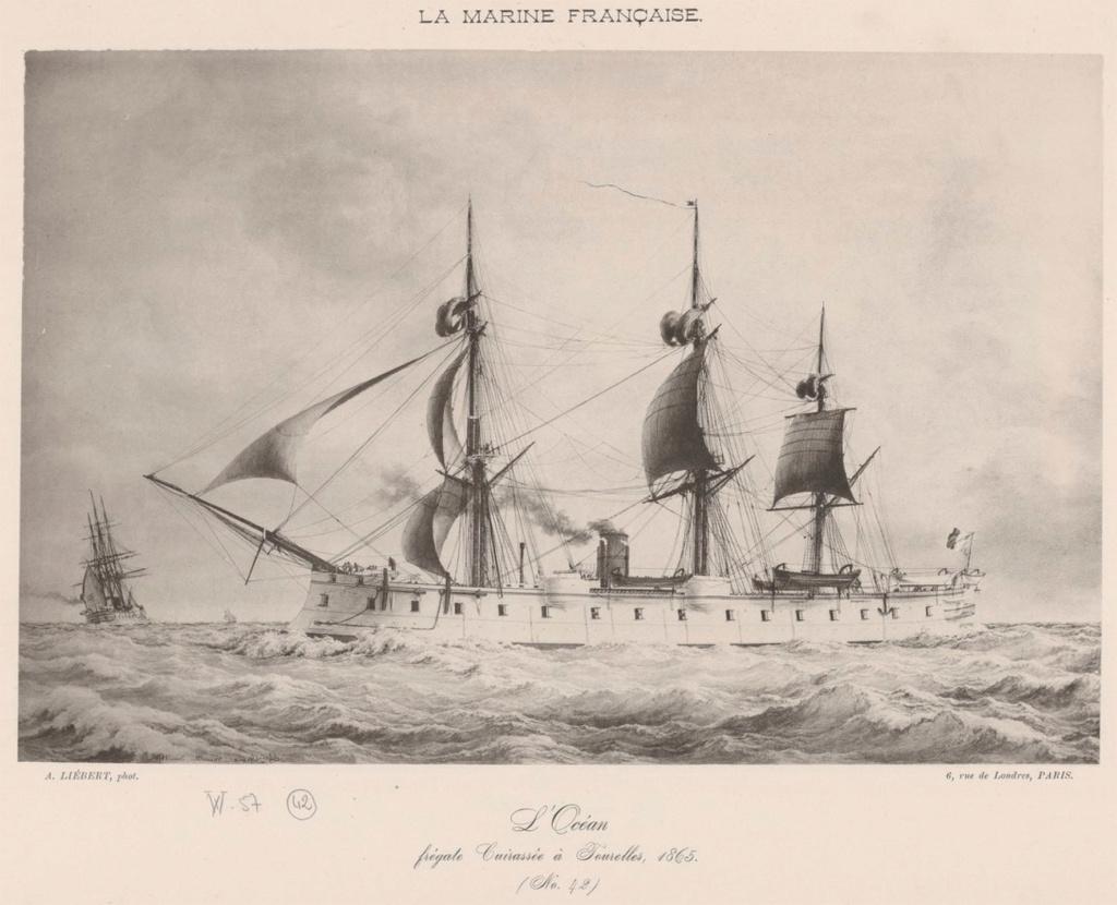 La marine en bois, à voile, à vapeur & cuirasse (1792-1873) Oczoan11