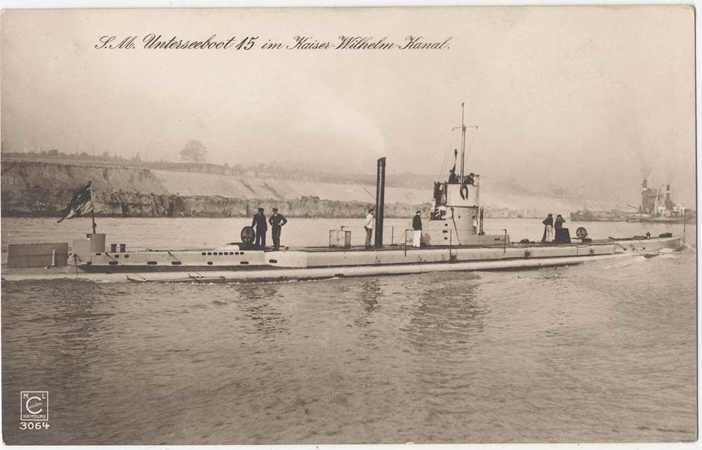 22 septembre 1914 le triplé d'Otto Weddigen  U-1510