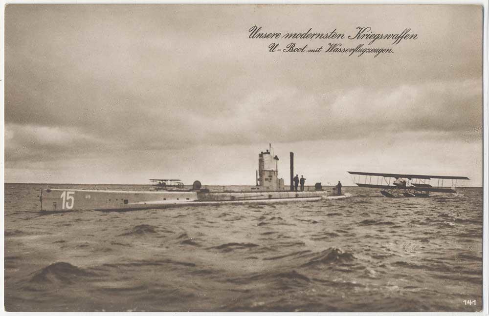 22 septembre 1914 le triplé d'Otto Weddigen  U-15_210